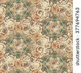 seamless pattern illustration | Shutterstock . vector #377694763