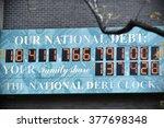 new york city  usa   nov 11 ... | Shutterstock . vector #377698348