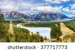 The Town Of Canmore In The...