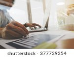 business documents on office...   Shutterstock . vector #377729254