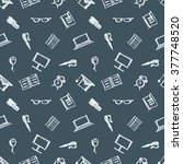 seamless vector pattern ... | Shutterstock .eps vector #377748520