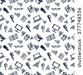 seamless vector pattern ... | Shutterstock .eps vector #377748556
