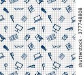 seamless vector pattern ... | Shutterstock .eps vector #377748808