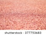 running track  depth of field | Shutterstock . vector #377753683