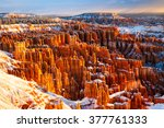 Winter Morning   Bryce Canyon...