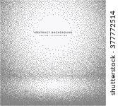 empty room dots background | Shutterstock .eps vector #377772514