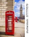 Iconic Red British Telephone...