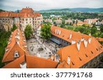 Cesky Krumlov From The Top ...