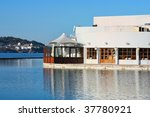 pleasant bar at the river | Shutterstock . vector #37780921