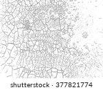 paint black.grunge cracked... | Shutterstock .eps vector #377821774