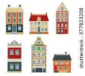 Apartment House Icons And...