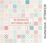 mega set of 88 colorful... | Shutterstock .eps vector #377840128