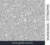 silver glitter texture.... | Shutterstock . vector #377862940