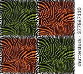 Zebra Stripes .vector....