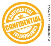 yellow confidential campaign... | Shutterstock . vector #377879023
