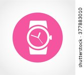 watch icon isolated on white...