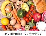 diet food concept | Shutterstock . vector #377904478