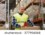 logistic  delivery  shipment ... | Shutterstock . vector #377906068