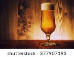 draft beer | Shutterstock . vector #377907193