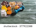 the concept of a healthy...   Shutterstock . vector #377922388