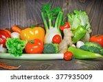 healthy diet   eating healthy...   Shutterstock . vector #377935009