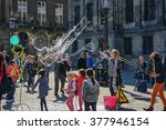 Street Performers Entertain...