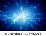2d business graph background | Shutterstock . vector #377953066