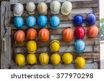 multi colored construction... | Shutterstock . vector #377970298
