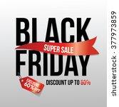 black friday supersale design...   Shutterstock .eps vector #377973859
