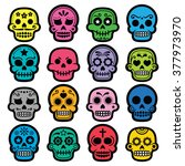 Halloween  Mexican Sugar Skull...