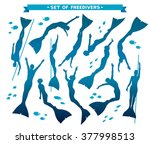 vector set with isolated... | Shutterstock .eps vector #377998513