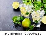 mojito cocktail | Shutterstock . vector #378004150