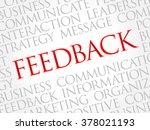 feedback word cloud  business...   Shutterstock .eps vector #378021193