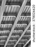 iron structure of the bridge... | Shutterstock . vector #378026620