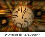 warped time | Shutterstock . vector #378030544