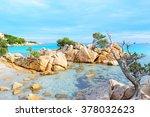 Rocks In Capriccioli Beach ...