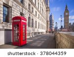 traditional red british... | Shutterstock . vector #378044359