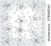 horoscope . zodiac . | Shutterstock .eps vector #378068260