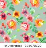 Watercolor Flowers Illustratio...