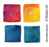 colorful watercolor background. ... | Shutterstock . vector #378086134