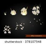 vector effect. effect for game. ... | Shutterstock .eps vector #378107548