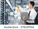 technology. | Shutterstock . vector #378109966