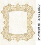 ethnic template for design... | Shutterstock .eps vector #378112030