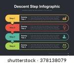 flat business presentation... | Shutterstock .eps vector #378138079