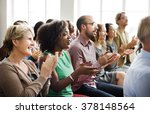 audience applaud clapping... | Shutterstock . vector #378148564