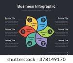 flat business presentation... | Shutterstock .eps vector #378149170