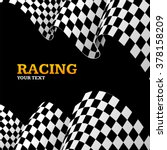 racing background with space... | Shutterstock .eps vector #378158209