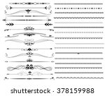 ornamental rule lines in... | Shutterstock .eps vector #378159988