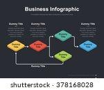 flat business presentation... | Shutterstock .eps vector #378168028
