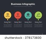 flat business presentation... | Shutterstock .eps vector #378173830